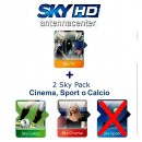 Sky Italia Subscription SkyTV + Calcio + Cinema 1 Year