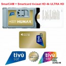 CAM TIVUSAT HD 4K and Card HD NOT Activated