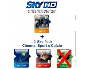 Sky Italia Subscription SkyTV + Cinema + Sport + Premiere League<br /> 12 Months