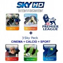 Abo Sky Italia Sky TV+Famiglia+Calcio+Sport<br>+Cinema+Premiere League<br>12 Monate