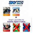 Sky Italia Subscription SkyTV + Famiglia + Cinema 12 Months
