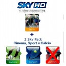 Abonement Sky Italia HD Sky TV + Calcio + Sport + Premiere League 18 Mois