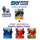 Abonement Sky Italia HD Sky TV + Sport + Premiere League 18 Mois